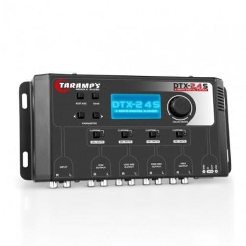 TARAMPS Four Channel Full Feature Low Distortion Auto Stereo Crossover