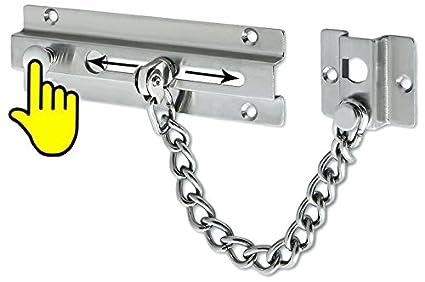 Amazon.com: Alise fd5000 Cadena Puerta Guardia con cierre de ...
