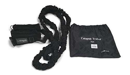 Uber Soccer Tandem Bungee Evasion and Resistance Belt - 9 ft (3m) 9' Ball Bungee