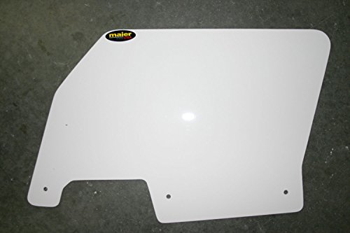 Rear Number Plate (Maier USA Polaris RZR XP 1000 / RZR XP-4 1000 Rear Number Plates (pr) - White - 194651)