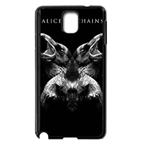 Personality customization TPU Case with Alice In Chains Samsung Galaxy Note 3 Cell Phone Case Black