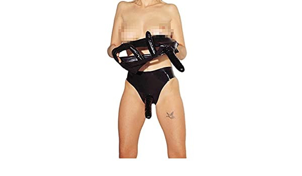 Amazon.com: ARNES DE LATEX NEGRO CON PENE Y PLUG INTERNOS - S: Health & Personal Care