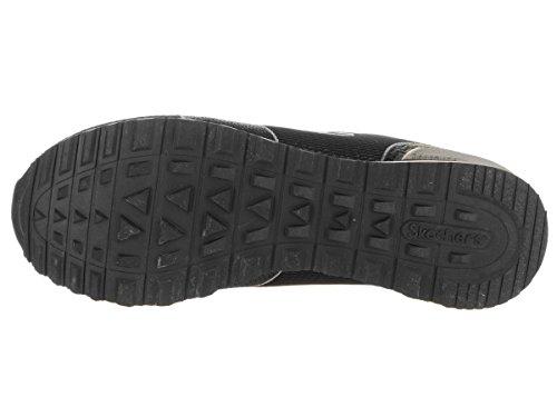 Skechers Sneakers Vrouwen Boven De 85 Shimmer Tijd Zwart Zwart (blk)