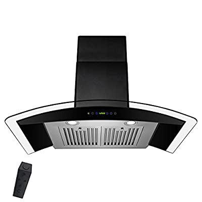 """AKDY 30"""" Wall Mount Hight Quality Stainless Steel Made Touch Control Panel Kitchen Cooking Vent Range Hood"""