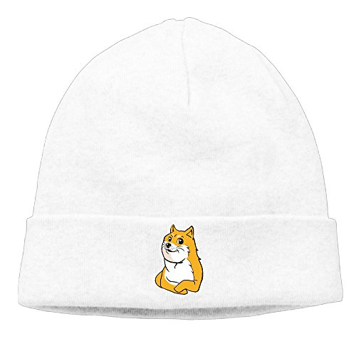 Akc Christmas Ornament (Winter Warm Cap Hat Womens Mens Shiba Inu Faces Watch Cap Fashion WQ UNIQUE)