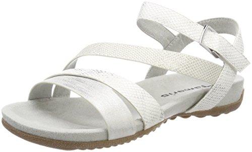 UK Damen 197 Schwarz Black Comb 098 Tamaris 28604 Sandaletten 5 für Comb White White pqRn4wzx