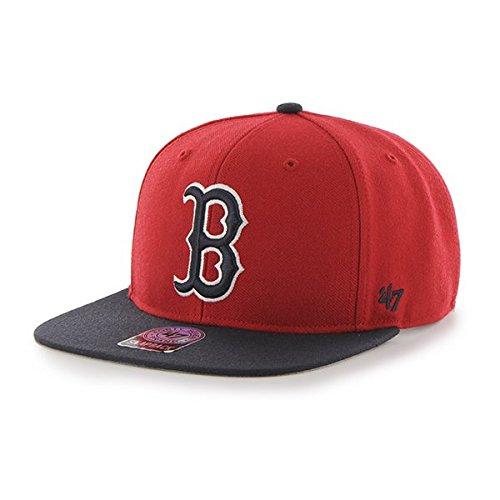 47 Brand Casquette De Baseball Mixte Rouge Taille