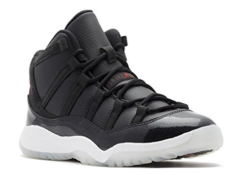 Nike Jordan Kids Jordan 11 Retro Bp Black/Gym Red/White/Anthracite Basketball Shoe 12.5 Kids US by NIKE