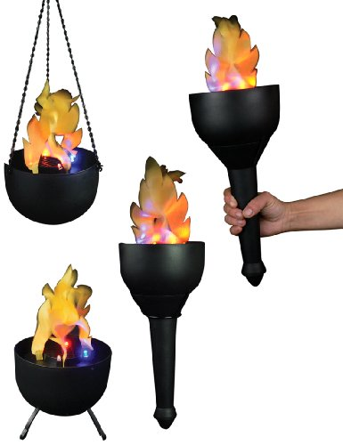 Outdoor Silk Flame Lights in US - 9