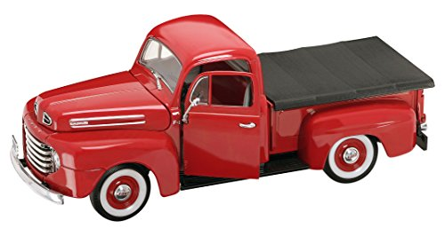 Road Signature 1948 Ford F-1 Pick Up Vehicle (1:18 Scale), Red