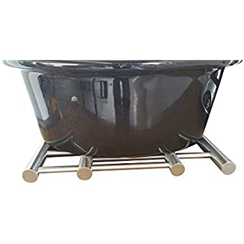 'Stainless Steel Extendable Trivet - Pot Holder Rack to Protect Tables and Counters from Hot Plates, Oven Pans, Hot Pot Expandable Metal Trivets by Pro Chef Kitchen Tools' from the web at 'https://images-na.ssl-images-amazon.com/images/I/411Bex%2BAoFL._SL500_AC_SS350_.jpg'