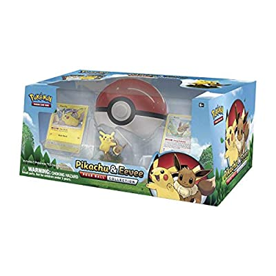 POKEMON Pikachu and Eevee Pokeball Collection: Toys & Games