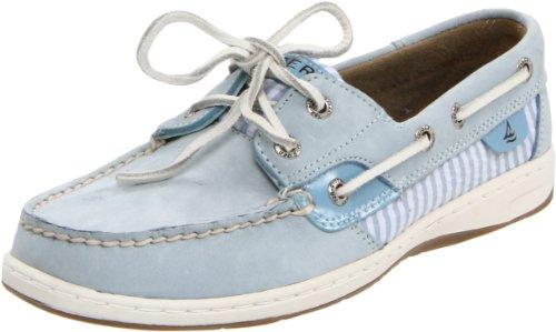 Sperry Top-Sider Womens Bluefish Shoe Light Blue/Seersucker oIpTnm