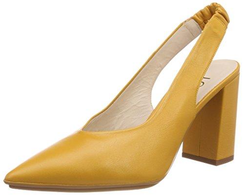 Safron Zapatos Lodi Para Cerrada Con Tacón Rinato Safron Naranja sweet Punta De Mujer Pqn5q4wf
