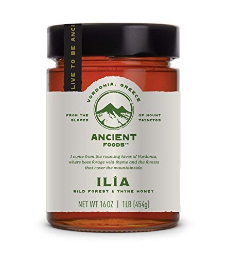 Ancient Foods - Honest Raw Honey | Unfiltered | Pure - 16 oz Jar