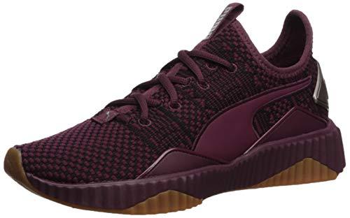 PUMA Women's Defy Sneaker fig-metallic ash 6 M US