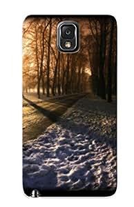 Galaxy Note 3 Cover Case - Eco-friendly Packaging(sun Falling In Park ) wangjiang maoyi
