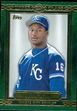 Bo Jackson Baseball Card Kansas City Royals Bo Knows 2014