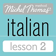 Michel Thomas Beginner Italian Lesson 2 Audiobook by Michel Thomas Narrated by Michel Thomas