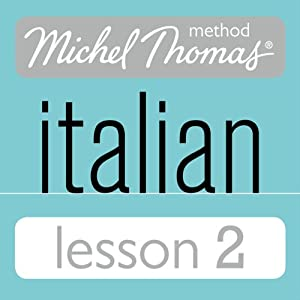 Michel Thomas Beginner Italian Lesson 2 Hörbuch
