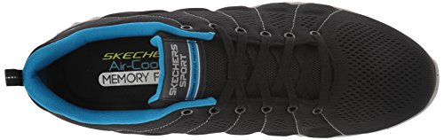 blue Noir black 52674 Skechers Homme Baskets 1vXHYq