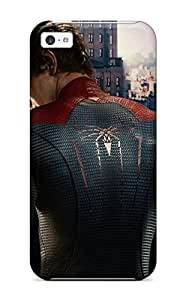 Defender Case For Iphone 5c, Andrew Garfield As Spider Man Pattern