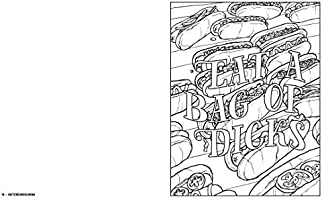 Bite Me Coloring Page | Free adult coloring pages, Adult coloring ... | 200x323
