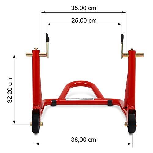 B/équille datelier arri/ère pour KTM 690 SMC//R ConStands ST Racing rouge