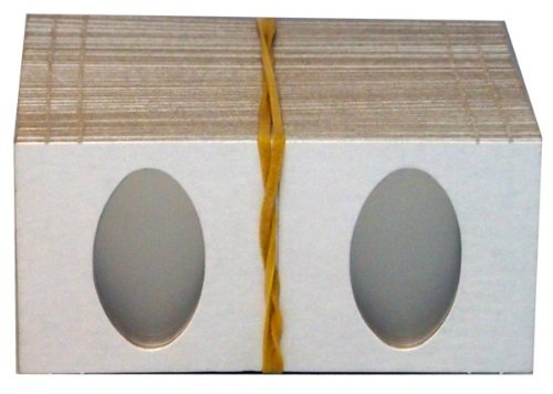 100 2x2 Cardboard Coin Holders ELONGATED CENTS by CCNE by CCNE
