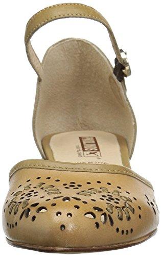 Women's Heel Pumps W4B5829 Pikolinos Low Elba Ivory 6qwI6r7B