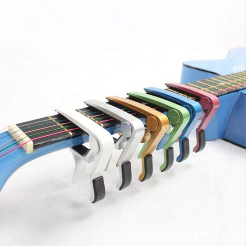 FelixStore Guitar Capo Clamp for Electric and Acoustic Ukulele Guitar Quick Trigger Release