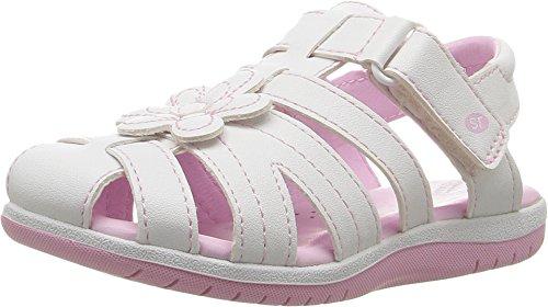 Stride Rite Baby Girl's Kiernan (Toddler/Little Kid) White Shoe