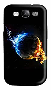 Chiyan Earth PC Case Cover for Samsung Galaxy S3 I93003D