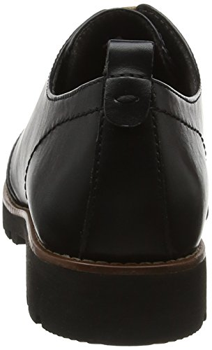 Jana Oxfords 23704 Black Black Women's Nappa zwwPrH