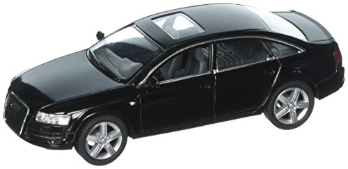 Audi A6, Black - Kinsmart 5303D -1/38 scale Diecast Model Toy Car (Brand New, but NO BOX) (S4 Car Toy Audi)