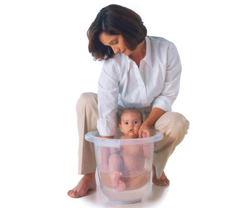 Amazon.com : The Original Tummy Tub Baby Bath - Clear : Baby ...
