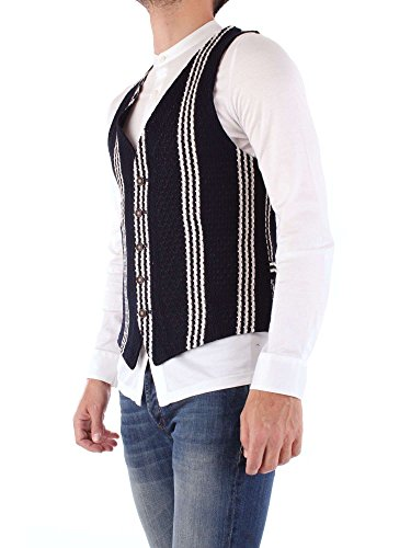 In Blue Fradi Made Striped 181fly181cn6549 White Italy Fly Vest xPpvpYAqf
