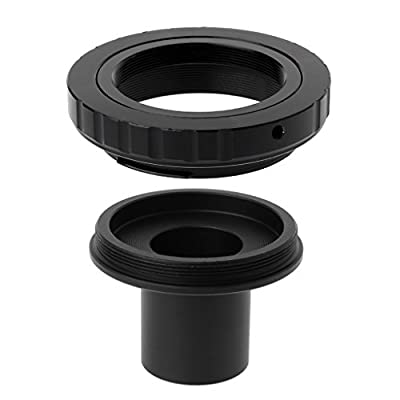 lipiny Metal Bayonet Mount Lens Adapter 23.2MM for DSLR Cameras to Microscope: Toys & Games