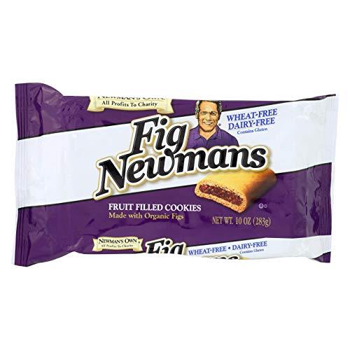 Newman's Own Organics Fig Newman's Wheat Free - Dairy Free - Case of 6 - 10 - Organics Newmans Own Fig