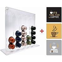 Porta Capsulas Nespresso + 3 Quadrinhos Café