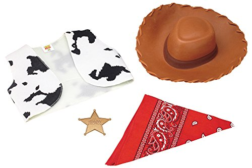 Woody Halloween Costumes Adult (Boys Woody Accessory Kit(One Size-As Shown))
