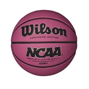 "Wilson NCAA Pink Replica Game Basketball, Intermediate - 28.5"""