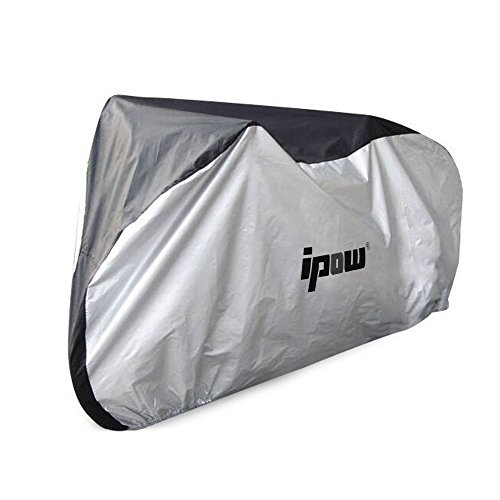 IPOW 210D Thicken Oxford Fabric Waterproof Snowproof UV Protective Cycle Bike Bicycle Cover with Bag Best for Mountain Road Electric and Cruiser Bikes by IPOW (Image #6)