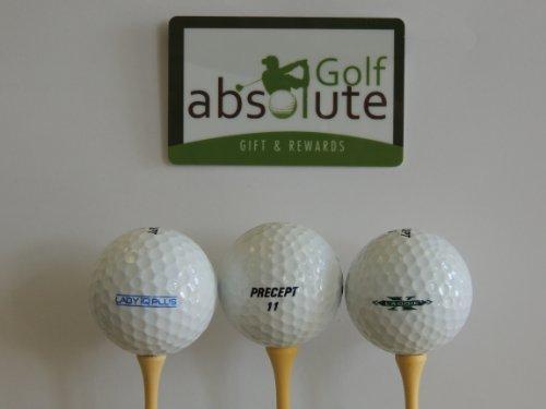 100 AAA Precept Mix Used Golf Balls