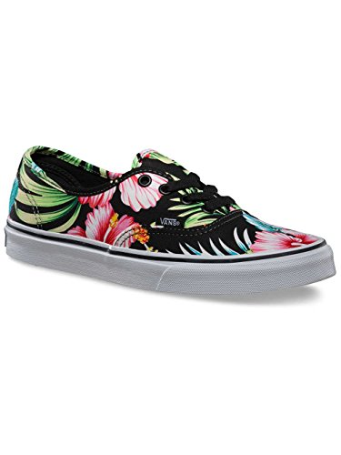 Vans Authentic Hawaiian Floral Black Men's 6/ Women's 7.5