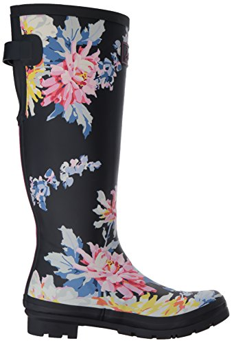 Joules Women's Welly Print Wellington Boots Blue (Navy Whistable) Jjw31NyNwm