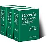 Green's Dictionary of Slang [3 Vol Set]