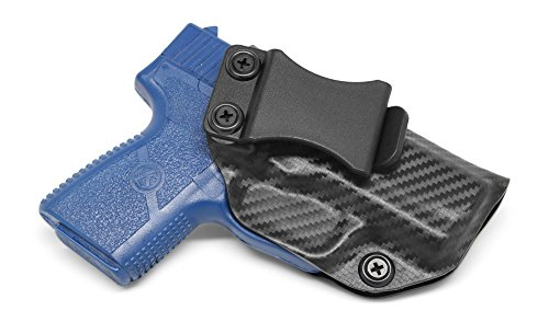 Concealment Express IWB KYDEX Holster: fits Kahr PM9 (CF BLK, RH) - Inside Waistband Concealed Carry - Adj. Cant/Retention - US Made