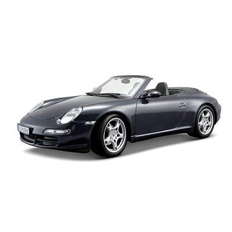 Maisto Porsche 911 Carrera S Cabriolet - 1:18 Scale Diecast Car Blue by Maisto: Amazon.es: Juguetes y juegos