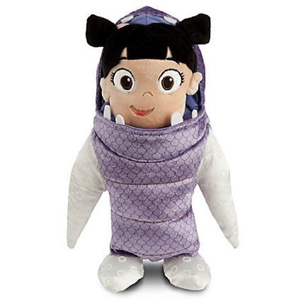 """Free Disney Monsters Inc. 15"""" Plush Baby Boo Dressed as Monster Doll"""